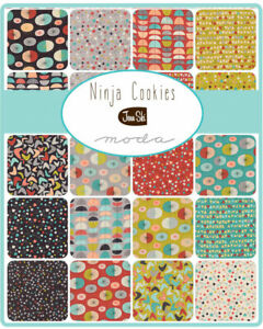 Ninja-Cookies-by-Jenn-Ski-for-Moda-Fabrics-Fabulous-Retro-Inspired-Fabric