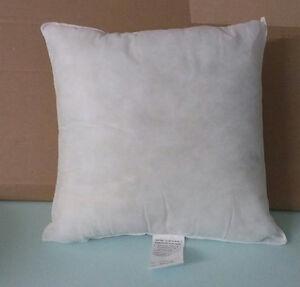 "Pillow Form Insert Square Hypo-Allergenic 16"" x 16"" (1) | eBay"