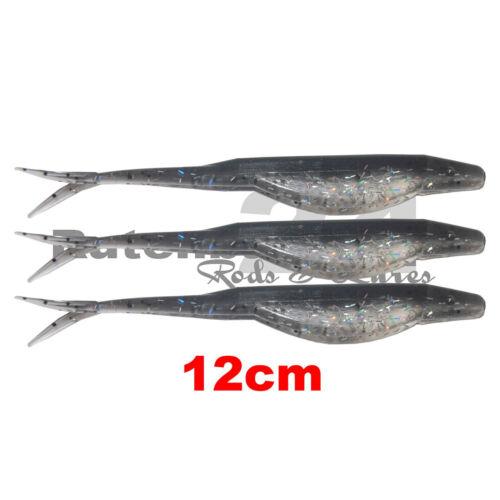 Tail Bass Shad Bass Bomber Split 12cm unterschiedliche Farben V Tail 9cm