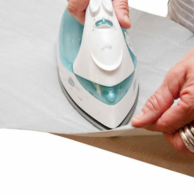 STICK & FIT Self Adhesive IRONING BOARD COVER - Cut to Size - 134 x 45cm 2593-1