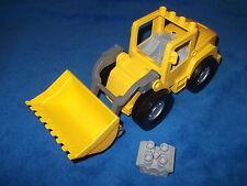 Lego Duplo Radlader Bagger Baustelle Steinbruch aus 5653 10520 groß Gelb Selten