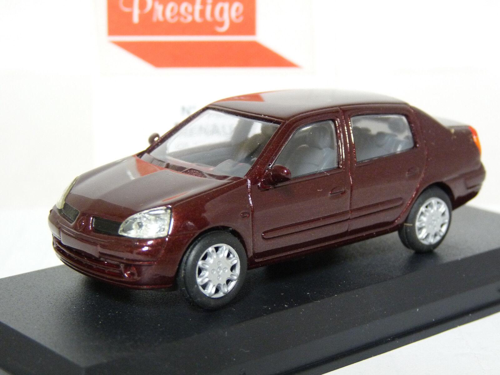 Prestige PM77 1 43 Renault Clio Symbol Thalia Handmade Résine Voiture Modèle Marron
