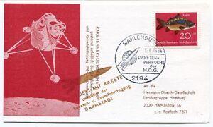 Agressif 1964 Raketenversuchsreihe Darmstadt Sahlenburg Hog Hermann Oberth Gesellschaft Produits Vente Chaude