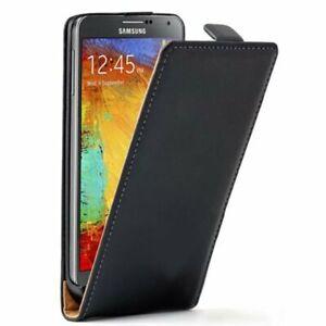 Etui-Housse-Coque-Cuir-PU-Vertical-Noir-Pour-Samsung-Galaxy-Note-3-N9000