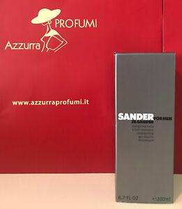 Shower Gel Jil Sander for Man Refreshing Body Gel 200 ml