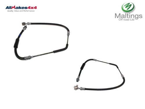 Range rover rear brake hoses range rover brake pipe set x2 lr044358 lr044359