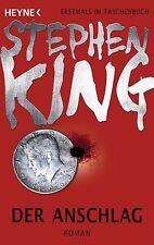 Der Anschlag  Stephen King  Thriller Taschenbuch ++Ungelesen++
