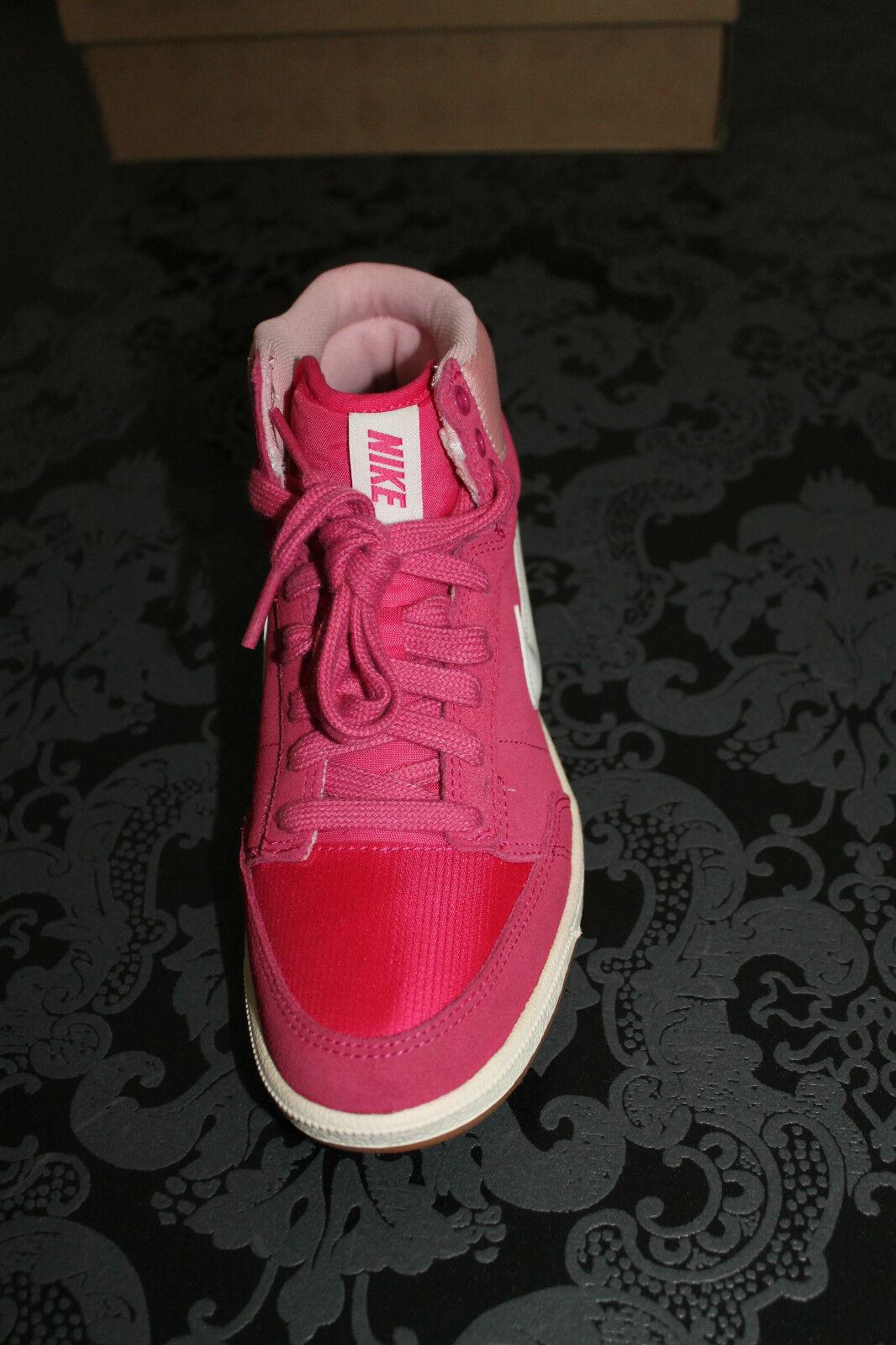 NIKE DOUBLE DOUBLE DOUBLE TEAM Donna Lifestyle Sneaker Rosa Bianco Taglia 38,5 o 40 NUOVO | Prima i consumatori  | Ricca consegna puntuale  | Colore Brillantezza  | Sig/Sig Ra Scarpa  bd48c8