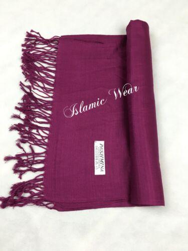 Islamisches schal//hijab pashmina super in  verschiedenen farben herbst//winter
