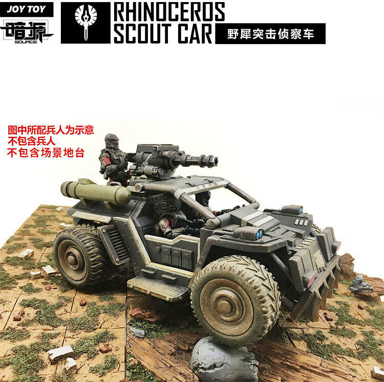 JOYTOY Rhinoceros Assault vehicle Car Model Action Toy