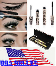3D Fiber Eyelash Mascara Extension Love Alpha Black Lash Gel & Natural Fiber
