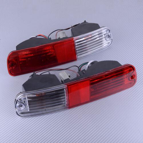 Paar Rücklicht Rückleuchte Heckleuchte Stoßstange für Mitsubishi Pajero 03-06