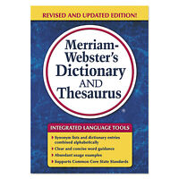 Advantus Corp Merriam-webster's Dictionary And Thesaurus 992 Pages 7326 on sale
