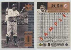 1999 Upper Deck Century Legends Memorable Shots Baseball Cards Pick From List