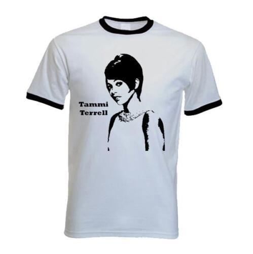 Tammi Terrel Men/'s T-Shirt Motown Northern Soul Marvin Gaye S to 2XL