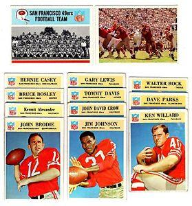 fdef90d6b Image is loading 1966-Phila-SAN-FRANCISCO-49ERS-team-set-K-