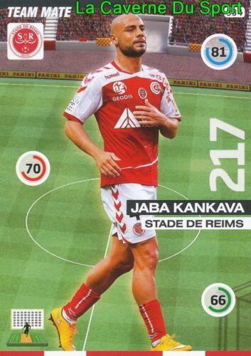 334 JABA KANKAVA GEORGIA STADE REIMS CARD UPDATE ADRENALYN 2016 PANINI