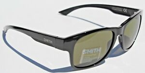 c98fa0c2753 Image is loading SMITH-OPTICS-Wayward-POLARIZED-Sunglasses-Black-Gray-Green-