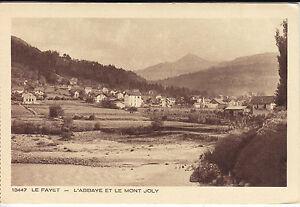 Le-Fayet-les-Bains-l-039-Abbaye-et-le-Mont-Joly-Haute-Savoie-CPA