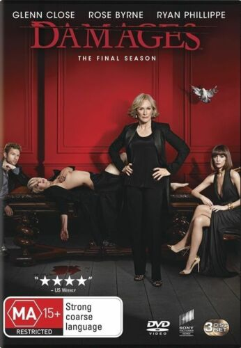 1 of 1 - Damages: Season 5 (DVD, 2013, 3-Disc Set), NEW SEALED REGION 4