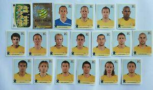Panini-coupe-du-monde-2010-AUSTRALIE-AUSTRALIA-equipe-equipe-Complete-World-cup-WC-10