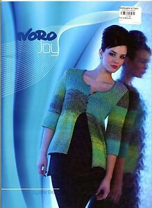 Noro Joy - Jane Ellison Knitting Pattern Book - 14 Spring Summer Designs Women