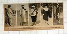 1920 Paris Fashions Seen In The Racecourse