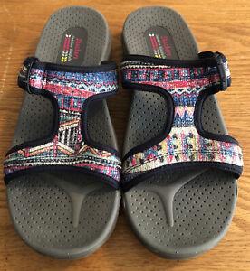 Skechers Outdoor Lifestyle Sandals Size 10 Sport Flip Flop ... on Outdoor Living 4U id=88945