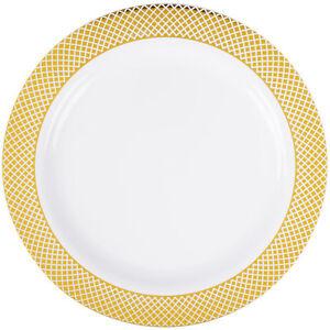 Image is loading 120-pk-10-034-Dinner-Plates-China-Look-  sc 1 st  eBay & 120 pk 10