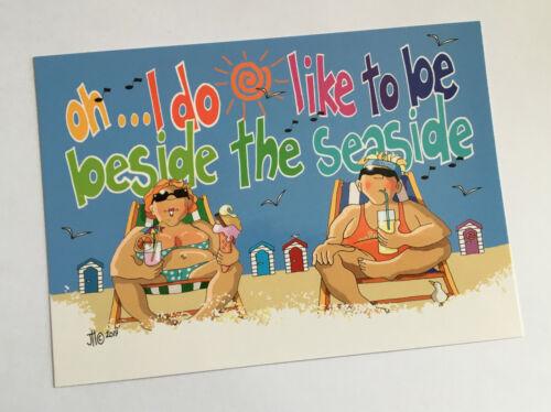 Limited Edition /'KissMeQuick/' Seaside Postcard SPC78