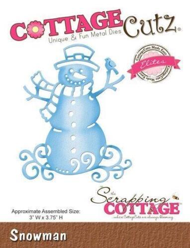 COTTAGE CUTZ ELITES DIES CCE-192 REDUCED CLEARANCE Cutting die SNOWMAN