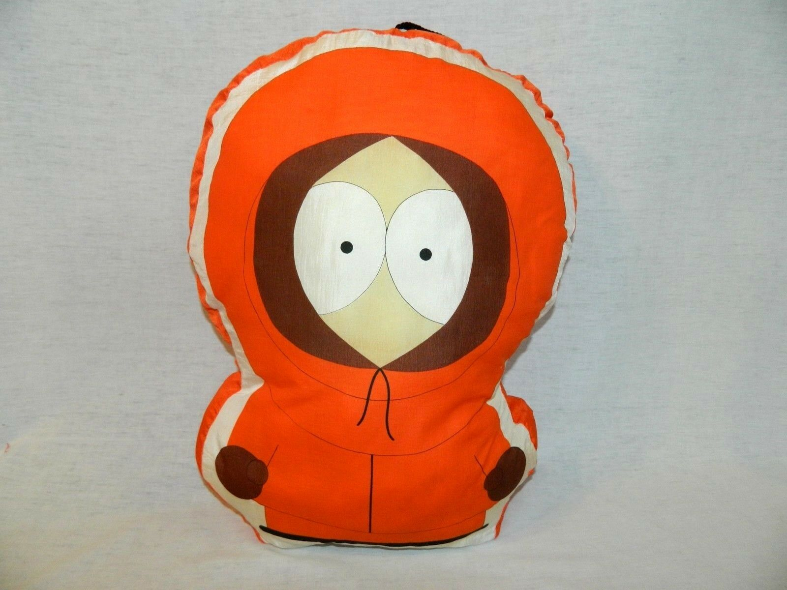 South Park KENNY Stuffed Nylon Pillow  18  Plush Toy 1998 Comedy Central Vintage