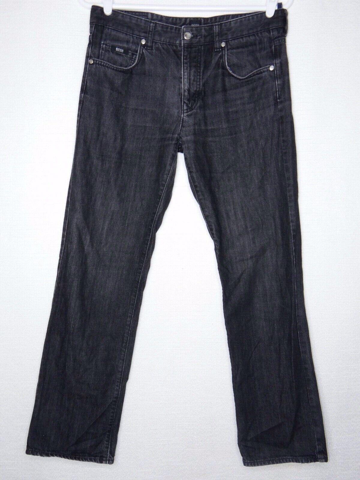 Hugo Boss Kansas 34 Acid Wash Regular Fit Jeans Inseam  31.5