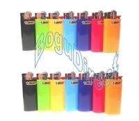 Mini Bic Lighters Assorted Colors Disposable 6 Lighters