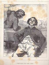 "Gavarni, Paul - ""Histoire d 'en dire deux"" de ""Masques et rostros"" mostrarían 1853"