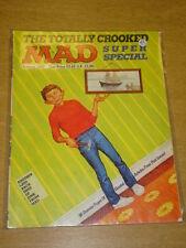 MAD SUPER SPECIAL #60 1987 AUTUMN POOR EC VOLUME US MAGAZINE TOTALLY CROOKED
