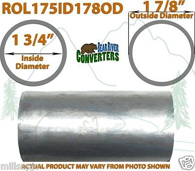 """1 7//8"""" 1.875/"""" OD to 2"""" ID Universal Exhaust Component to Pipe Adapter Reducer"""