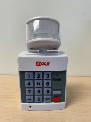 Digital Keypad Mace Panic Button by MSI PIR Burglar Motion Detector Alarm