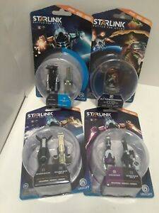 Starlink-Battle-Of-Atlas-Toys-Lot-Of-4-Accessories-NEW-Weapons-amp-Pilot