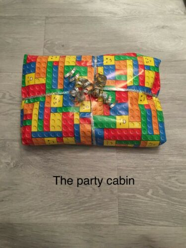 lego Birthday Pass  the parcel Girls//boys 8//10//12//14//16 layer+main prize