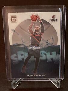 2019 - 2020 Donruss Optic Damian Lillard Splash Insert SP Portland Trailblazers