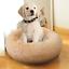 Luxury-Small-Beige-Warm-Fluffy-Pet-Bed-Dog-Puppy-Kitten-Fur-Donut-Cushion-50cm thumbnail 7