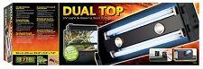 Exo Terra Dual Top Canopy 60cm UVB Light & Basking Spot Fixture