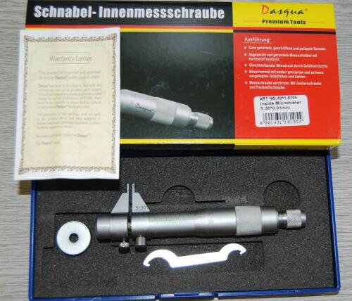 30 mm x 0.01 mm Guaranteed for Life Dasqua Inside Micrometer 5