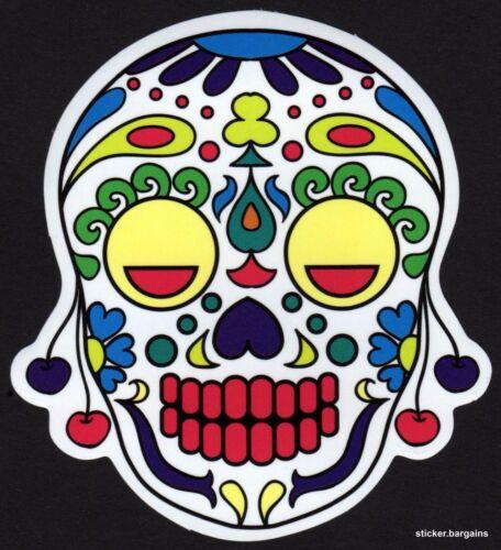 Mexican Laptop Car Halloween Waterproof Vinyl Designs Skull Art Stickers 50