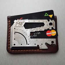 Multitool Credit Card Size Pocket Multi Purpose Survival Tool fit in your Wallet