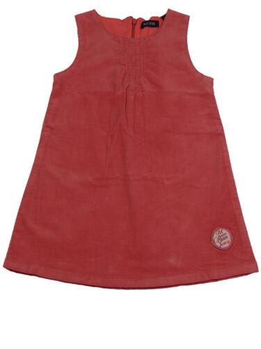 Fille Robe Cord porteur robe 98 104 110 128 Girls Dress feincord A-ligne rose