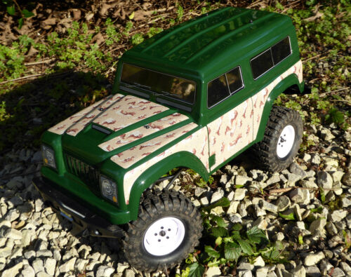 RC Rock Crawler DESERT CAMOUFLAGE Stickers Decal FTX RGT HSP OUTBACK LR RANGER