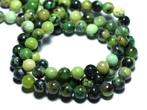 4558550035820 Perles de Pierre 10pc Chrysoprase Boules 3-4mm