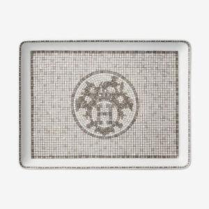 Hermes Mosaique au 24 sushi plate Platinum